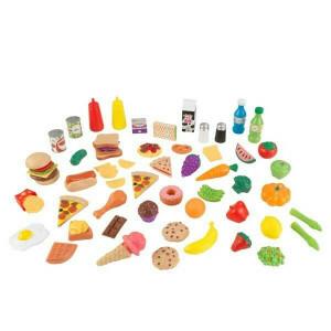 Luxe 65-delige Tasty Treats XL (Namaak Etenswaren) - Kidkraft (63510)