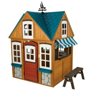 Seaside Cottage Outdoor Playhouse - Kidkraft (402)